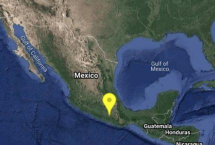 Se registra sismo de magnitud 4.1 con epicentro en Guerrero