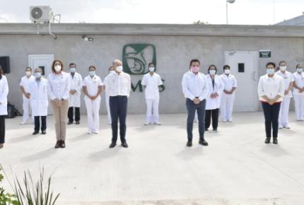 Imss y gobierno de SLP refrendan colaboración ante emergencia sanitaria de covid-19
