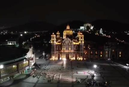 Después de 464 años, la Basílica lució vacía un 12 de diciembre
