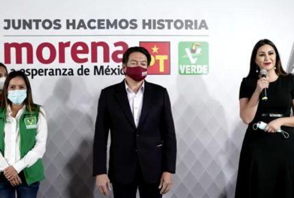 Firman Morena, PT y PVEM alianza Juntos hacemos historia