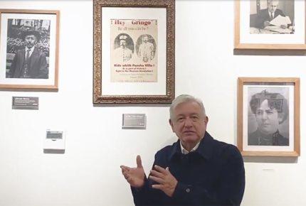 AMLO envía saludo a Manuel García, chihuahuense de 124 años