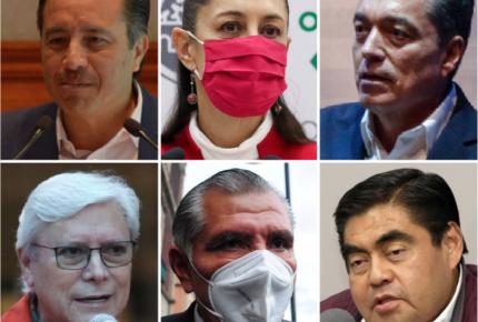 De Morena, los gobernadores con menos acciones contra Covid-19