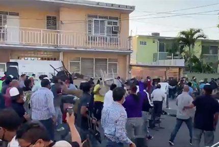 Contienda interna del PAN en Veracruz termina en riña