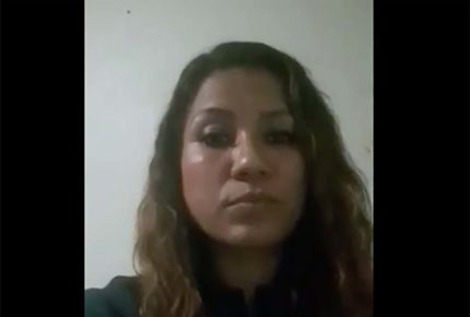 Víctima de Félix Salgado pide protección para ella y su familia