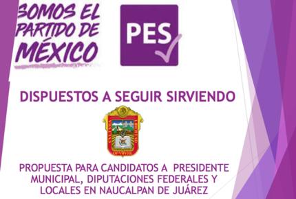 PES postula a puros militares para cargos en Naucalpan