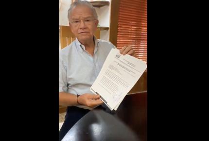 PRI y PRD registran a Granier como candidato en Tabasco