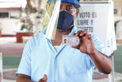 Realizan simulacro sobre jornada electoral en Yucatán
