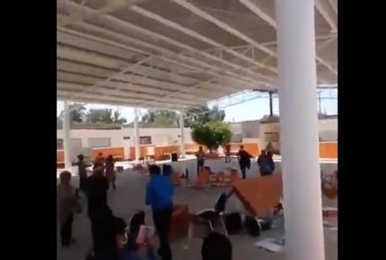 Destruyen módulo electoral en San Luis Potosí