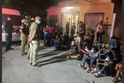 En cuatro días INM rescató a 648 migrantes en NL