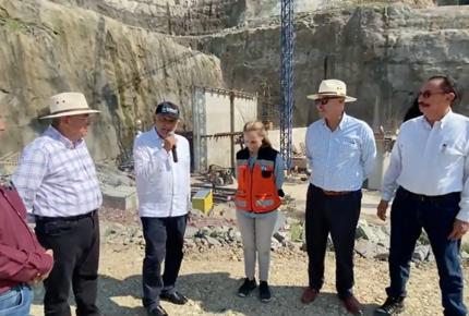 AMLO destaca inversión y avance en presa Santa María, en Sinaloa