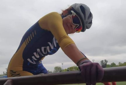Con rodada protestan por muerte de ciclista de la UNAM