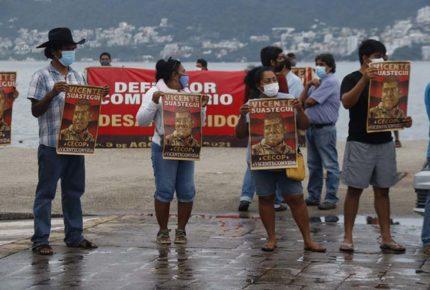 Condena CNDH desaparición del activista Vicente Suástegui