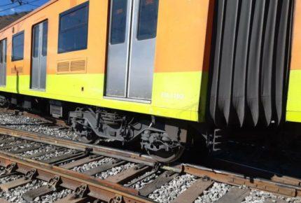 Convoy del Metro se descarrila en la línea A