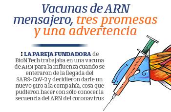 Vacunas de ARN mensajero, tres promesas y una advertencia