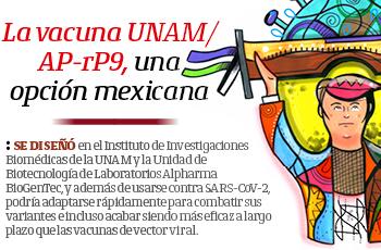 La vacuna UNAM/AP-rP9, una opción mexicana