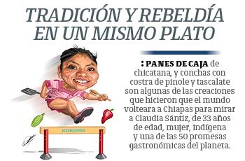 Chef Claudia Sántiz: tradición y rebeldía en un mismo plato