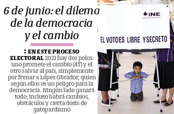 6 de junio: el dilema de la democracia y el cambio