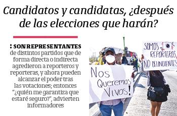 Candidatos y candidatas, ¿después de las elecciones que harán?