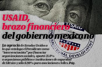 La Portada | USAID, brazo financiero del gobierno mexicano
