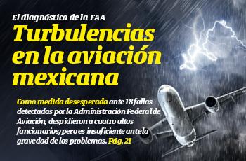La Portada | Turbulencias en la aviación mexicana