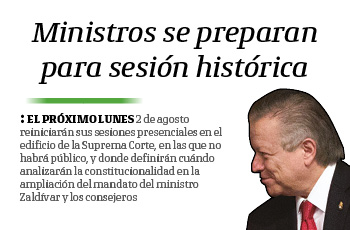 Ministros se preparan para sesión histórica