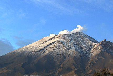 Popocatépetl registra 91 exhalaciones en 24 horas