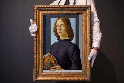 Pintura de Sandro Botticelli se subastará en 80 mdd