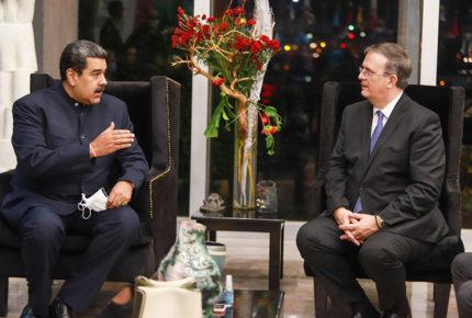 Nicolás Maduro llega a la CDMX; mañana estará en la cumbre CELAC