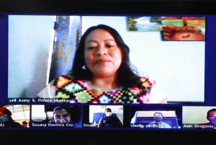 Juana Peñate gana el Premio de Literaturas Indígenas de América