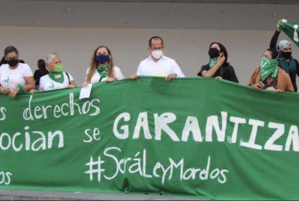 CDHM y colectivas de Morelos van por despenalización del aborto