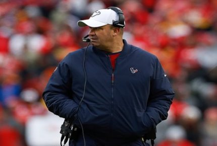 Bill O'Brien deja de ser coach de Houston Texans