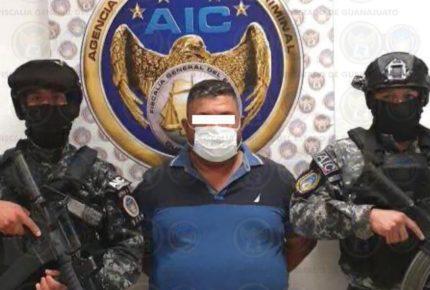 """Detienen a """"El Azul"""", líder del Cártel Santa Rosa de Lima"""