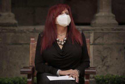 Layda Sansores se lanza a la gubernatura de Campeche