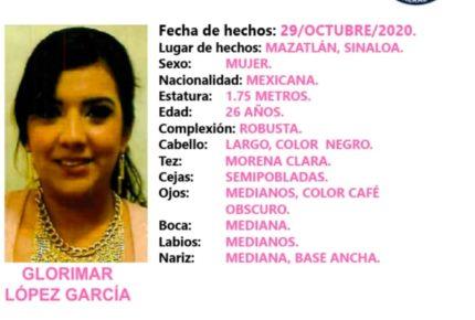 Exigen de vuelta a la enfermera Glorimar López, desaparecida en Sinaloa