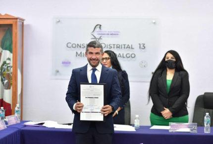 Entrega IECM constancias de mayoría a alcaldes electos