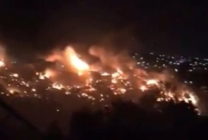Incendios acaban con 35 viviendas en Tijuana