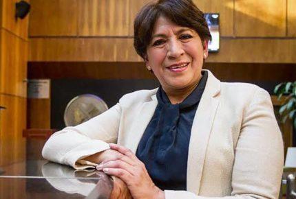 SNTE celebra nombramiento de Delfina Gómez en la SEP