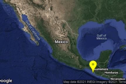 Se registra enjambre sísmico en Chiapas
