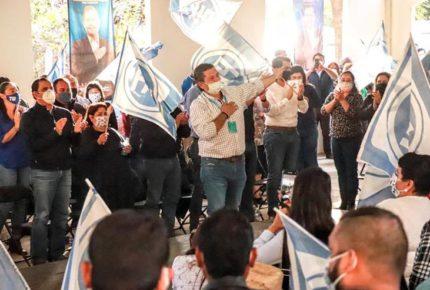 Elige PAN a Octavio Pedroza como candidato para gubernatura de SLP