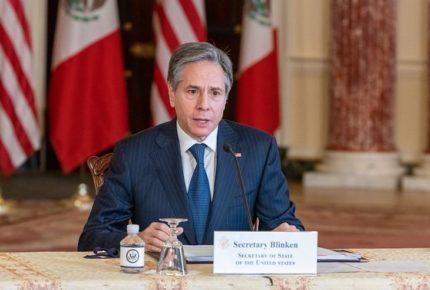 """Blinken reitera cierre de frontera a """"migración irregular"""""""