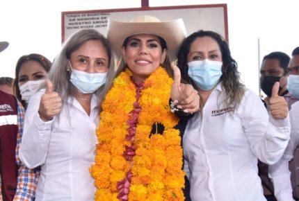 PRI y PRD impugnan triunfo de Evelyn Salgado en Guerrero