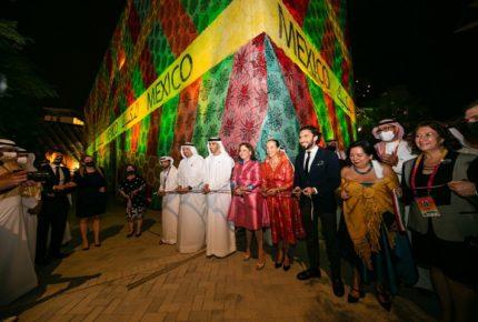 Así luce el Pabellón de México en la Expo 2020 en Dubái