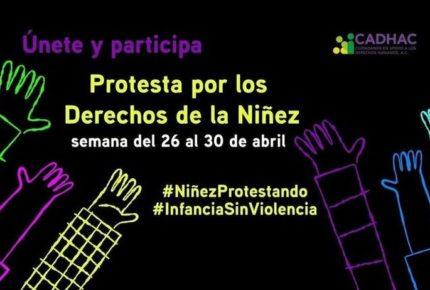 Promueven protesta en pro de la niñez en redes sociales