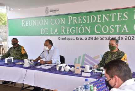 Guerrero refuerza atención sanitaria y de seguridad