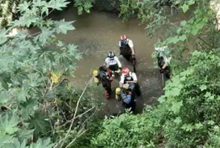 Hallan cuerpo de joven arrastrada por lluvias en Tlalnepantla
