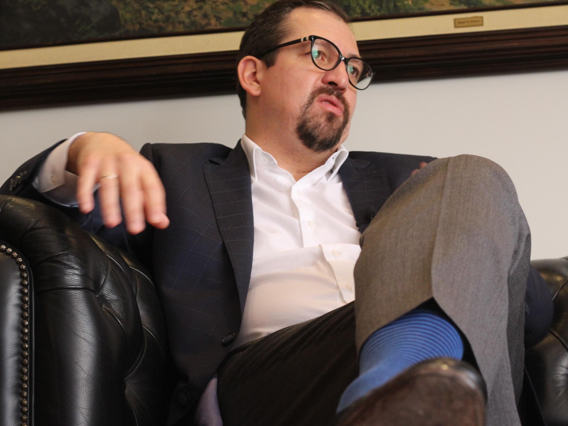 Entrevista al magistrado José Luis Vargas