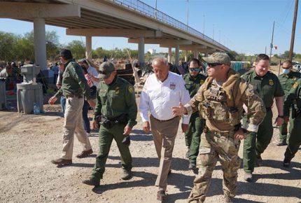 INM y patrulla fronteriza coordinan control migratorio