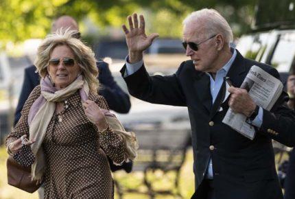 Joe y Jill Biden presentan su declaración de impuestos