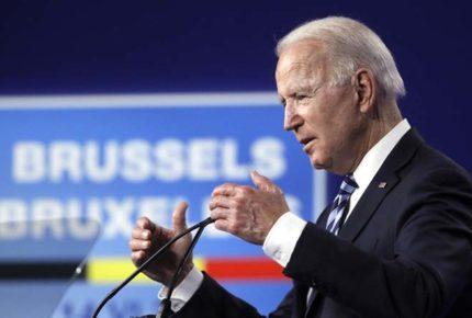 """Le dejaré claro a Putin las """"líneas rojas"""" que no debe cruzar: Biden"""