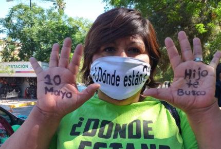 Madres de desaparecidos alistan protesta para el 10 de mayo